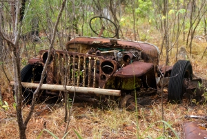 amry jeep, Prince of Wales Island