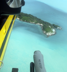 An idyllic island our pilots says is infested with Death Adders.