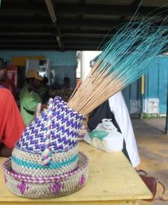 Saibai market.